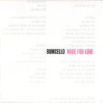Bumcello - Nude for Love